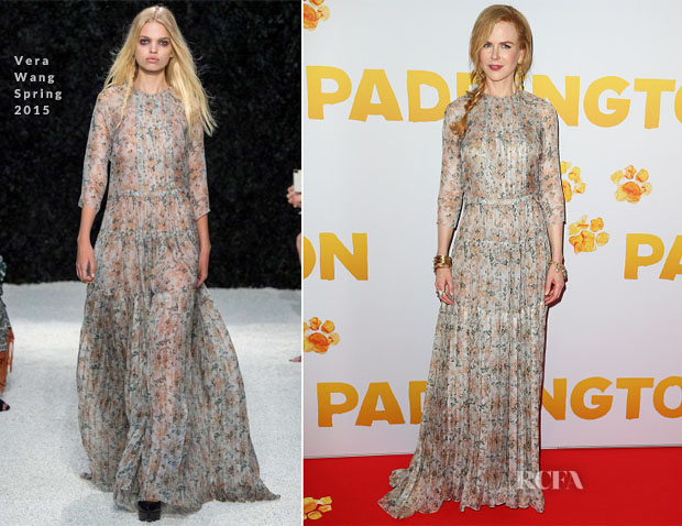Nicole Kidman In Vera Wang - 'Paddington' Sydney Premiere