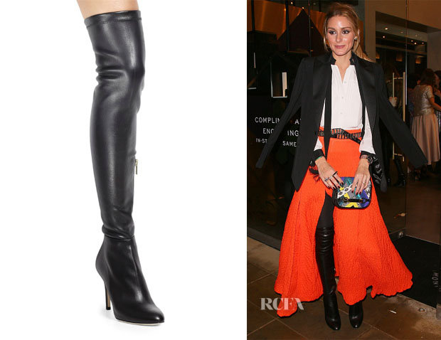 Olivia Palermo's Jimmy Choo Toni Leather Over-The-Knee Boots