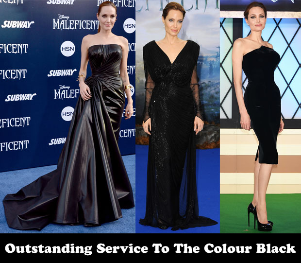 Outstanding Service To The Colour Black