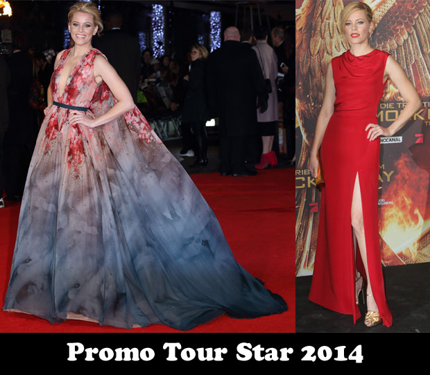Promo Tour Star 2014 – Elizabeth Banks for 'The Hunger Games Mockingjay, Part 1'