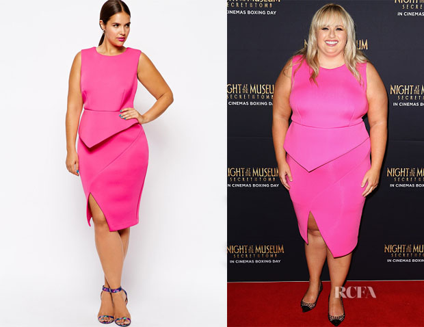 Rebel Wilson's ASOS Curve Premium Origami Dress