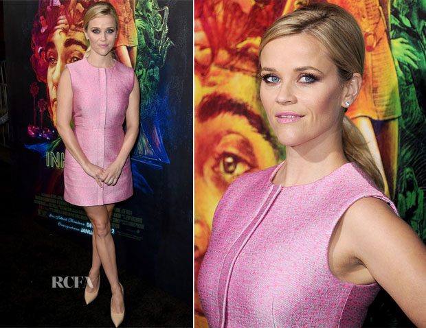 Reese Witherspoon In Balenciaga - 'Inherent Vice' LA Premiere