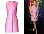 Reese Witherspoon's Balenciaga Tweed-Jacquard Sleeveless Dress
