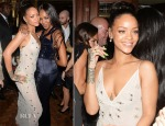 Rihanna In Jenny Packham - Edward Enninful British Fashion Awards After-Party