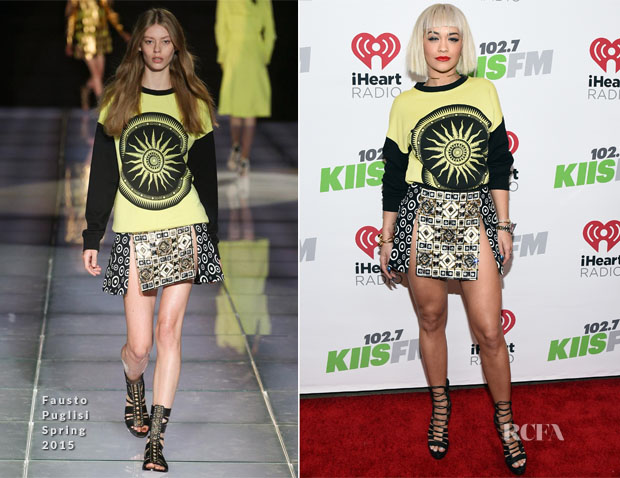 Rita Ora In Fausto Puglisi - KIIS FM's Jingle Ball 2014