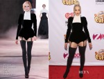 Rita Ora In Ulyana Sergeenko Couture - Z100's Jingle Ball