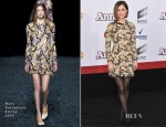 Rose Byrne In Mary Katrantzou - 'Annie' World Premiere