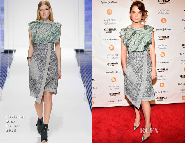 Ruth Wilson In Christian Dior - 2014 Gotham Independent Film Awards