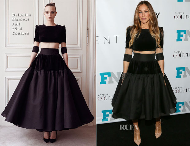 Sarah Jessica Parker In Delphine Manivet - 2014 Fashion Footwear Association Of New York Awards