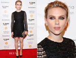 Scarlett Johansson In Saint Laurent - 2014 Gotham Independent Film Awards