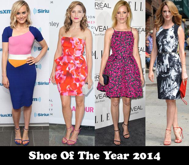 Shoe Of The Year 2014 – Stuart Weitzman 'Nudist' Sandals