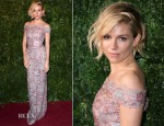 Sienna Miller In Burberry - 2014 London Evening Standard Theatre Awards