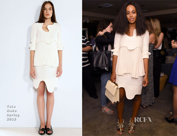 Solange Knowles In Tata Naka - The AD Oasis @ The James Royal Palm Hotel