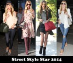 Street Style Star 2014 – Rosie Huntington-Whiteley