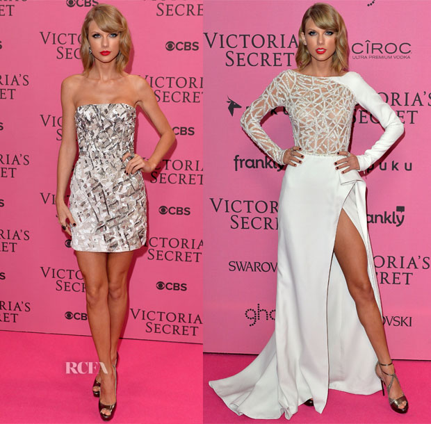 Taylor Swift In J Mendel & Zuhair Murad Couture -  2014 Victoria's Secret Fashion Show