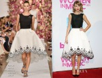 Taylor Swift In Oscar de la Renta - 2014 Billboard Women In Music Luncheon