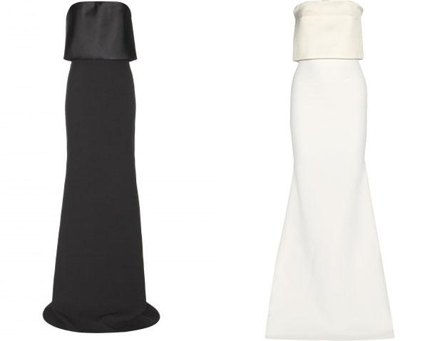 Victoria Beckham gown