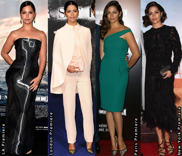Which Was Your Favourite Camila Alves 'Interstellar' Promo Tour Look