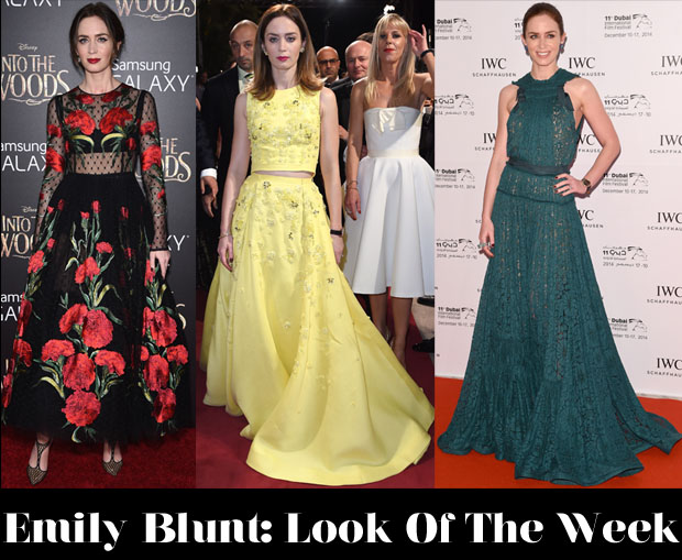 Which Was Your Favourite Emily Blunt Look Of The Week