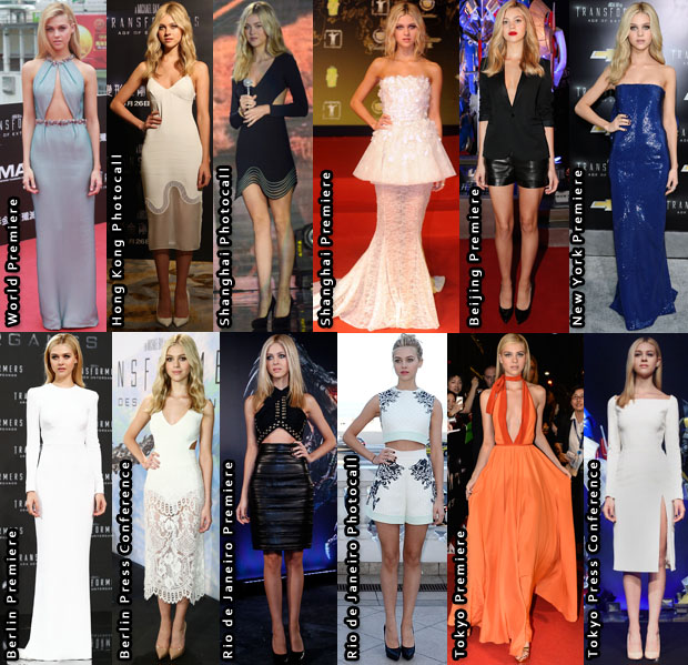 Which Was Your Favourite Nicola Peltz 'Transformers Age of Extinction' Promo Tour Look