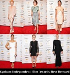 Who Was Your Best Dressed At The Gotham Independent Film Awards?