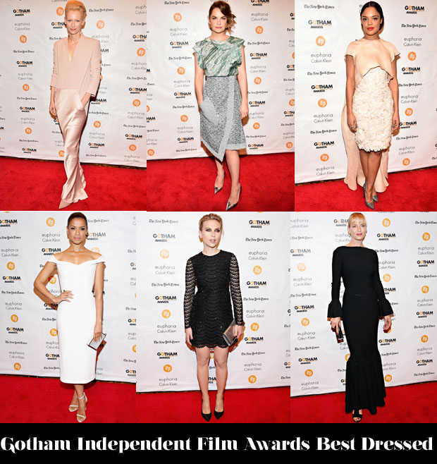 Who Was Your Best Dressed At The Gotham Independent Film Awards