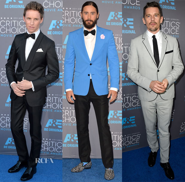 2015 Critics' Choice Movie Awards Menswear Roundup