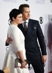 Ginnifer Goodwin in Delphine Manivet and Josh Dallas in Ermenegildo Zegna