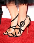 Camilla Luddington's Jerome C. Rousseau sandals