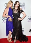 Beth Behrs In Juan Carlos Obando & Kat Dennings In Ludmila Corlateanu - 2015 People's Choice Awards