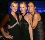 Reese Witherspoon in Balenciaga, Charlize Theron in Givenchy