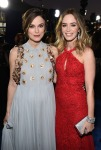 Keira Knightley in Delpozo and Emily Blunt in Emilio Pucci