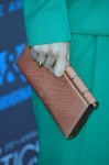 Andrea Riseborough's   Zagliani clutch