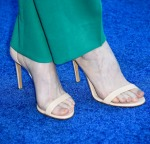 Andrea Riseborough's Casadei sandals