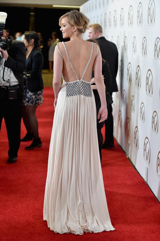 Jennifer Lawrence 2015 Producers Guild Awards Red