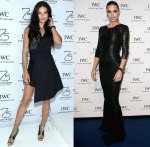 Adriana Lima In David Koma & Zuhair Murad - IWC Booth & Gala Dinner