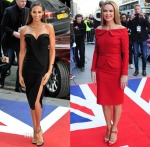 Alesha Dixon In Stella McCartney & Amanda Holden In Samuel Dougal - 'Britain's Got Talent' Edinburgh Auditions