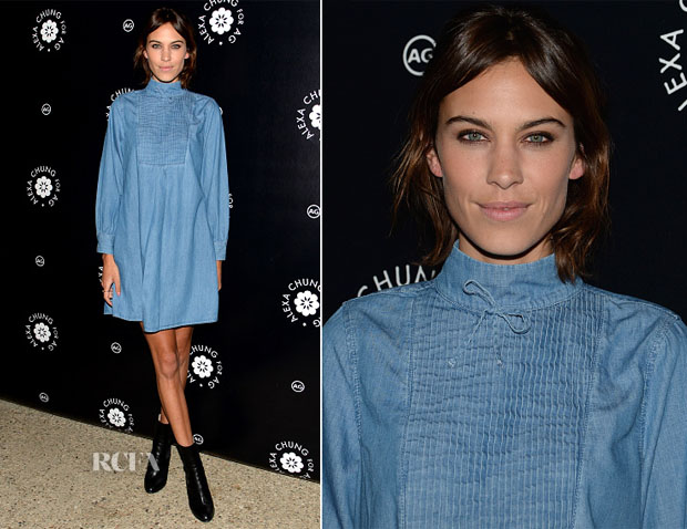 Alexa Chung In Alexa Chung For AG Jeans - Alexa Chung For AG Jeans LA Launch Party
