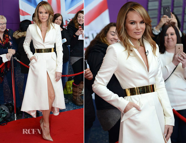 Amanda Holden In Samuel Dougal - 'Britain's Got Talent' Manchester Auditions