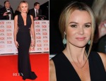 Amanda Holden In Stella McCartney & Roland Mouret - 2015 National Television Awards
