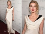 Amber Heard In Vintage Dior - 2015 Art Of Elysium HEAVEN Gala