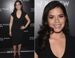 America Ferrera In Vintage Valentino - 2014 National Board of Review Gala