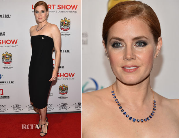 Amy Adams In ALC - LA Art Show 2015 Opening Night Premiere Party