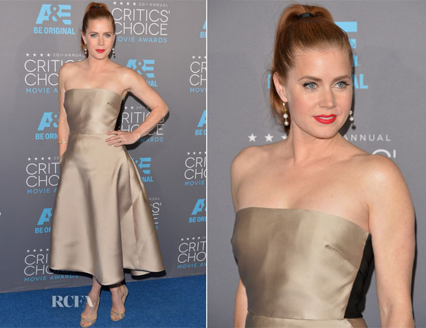 Amy Adams In Max Mara - 2015 Critics' Choice Movie Awards