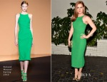 Amy Adams In Roland Mouret - W Magazine's Golden Globes Celebration