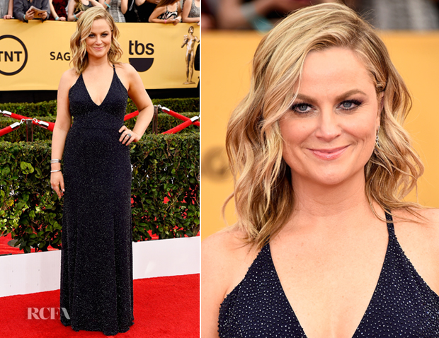 Amy Poehler In Jenny Packham - 2015 SAG Awards