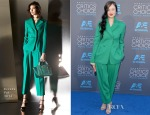 Andrea Riseborough In Escada - 2015 Critics' Choice Movie Awards