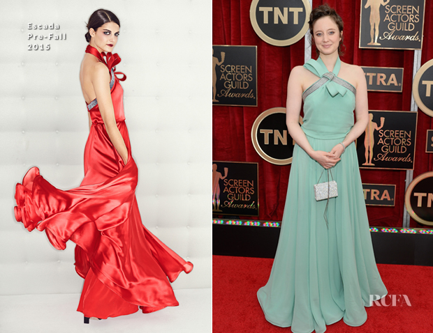 AndreaRiseboroughInEscada2015SAGAwards
