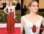 Anna Chlumsky In Escada - 2015 SAG Awards
