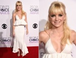 Anna Faris In Juan Carlos Obando - 2015 People's Choice Awards